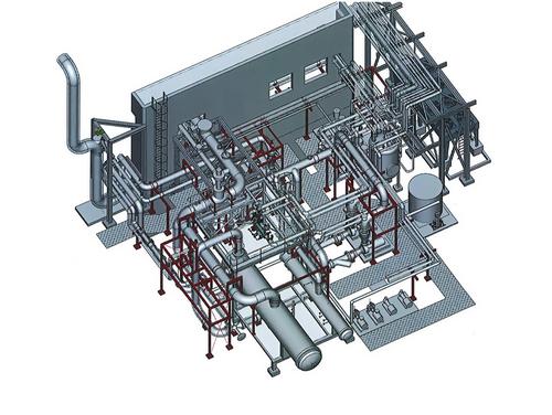 bureau d'études conception de tuyauterie et pièce de chaudronnerie industrielle