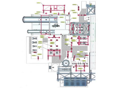 conception d'installation de tuyauterie acier, inox, composites