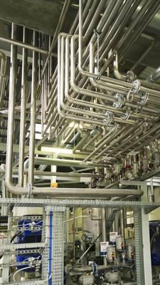 tuyauterie acier basse et haute température